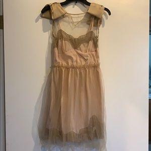 Rodarte Target slip dress with tulle